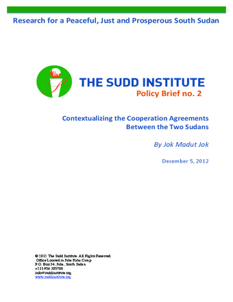 The Sudd Institute